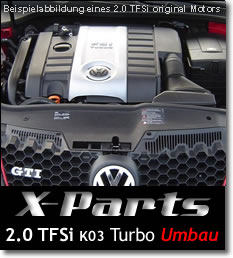 Turboumbau 2.0TFSI K03