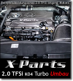 Turboumbau 2.0TFSI K04