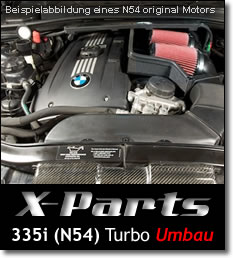 Turboumbau BMW 335i