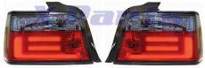3er BMW E36 LED Rückleuchten Lightbar SCHWARZ/ROT
