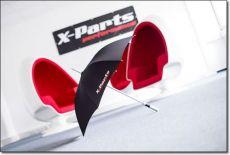 X-Parts PERFORMANCE Regenschirm GFK Aluminium