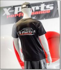 X-Parts PERFORMANCE T-Shirt R-Neck Rundhals Team