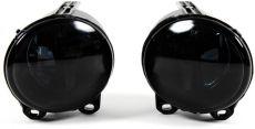 Nebelscheinwerfer BMW 2er F22/F23 + 3er E92/E93 + 5er F07/F10/F11 und X5 E53 Klarglas schwarz