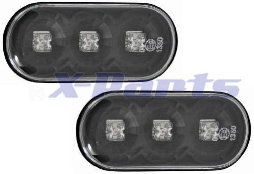 vw golf 4 led seitenblinker kristall schwarz 2er set. Black Bedroom Furniture Sets. Home Design Ideas