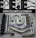 Ladeluftkühler Einbauset 32-teilig 57 mm