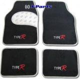 4-teiliges Set Fussmatten schwarz Type R