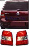 VW Golf 4 LED Rückleuchten ROT