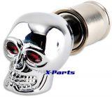Zigarettenanzünder Totenkopf Skull universal