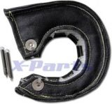 Hitzeschutz Turbolader T4 Turbo-Pampers SCHWARZ