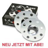 AUDI 80 B4 Spurverbreiterung 10 mm pro Achse ABE