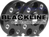 Spurverbreiterung 25 mm (Achse 50 mm) System 4BE SCHWARZ