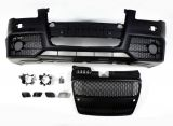 Audi A4 B7 Front Stoßstange mit Grill schwarz PDC RS4-Design