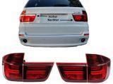 X5 BMW E70 LED Rückleuchten Lightbar SCHWARZ/ROT