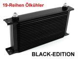 Ölkühler 19 Reihen Alu - BLACK EDITION