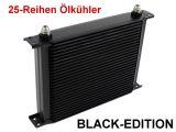 Ölkühler 25 Reihen Alu - BLACK EDITION