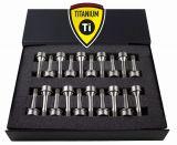 20 Titan Radschrauben Schraube M14x1,5 Kegel Schaftlänge 52mm für Ferrari