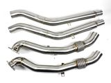 Downpipe Edelstahl passend für Audi A6 -S6,RS6, A7-S7, RS7 Sportback 4G C7