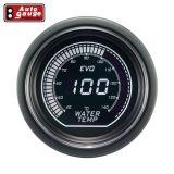 Digitale Wassertemperaturanzeige 52mm LCD Display 140°C 2 Farbig Weiss Grün