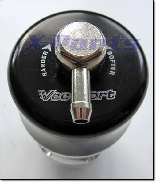 Blow Off Ventil V-Port 25 mm und 38 mm Anschluss