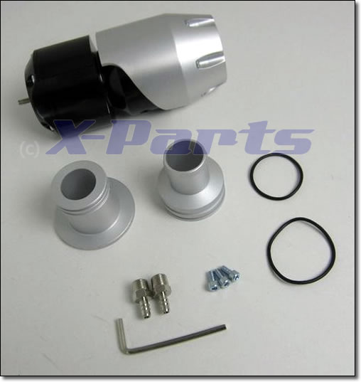Blow Off Ventil Synchronic einstellbar mit Doppelfeder 25 mm