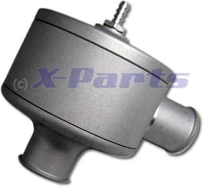 Schubumluft Ventil 25 mm Pop Off Typ 2 SILBER