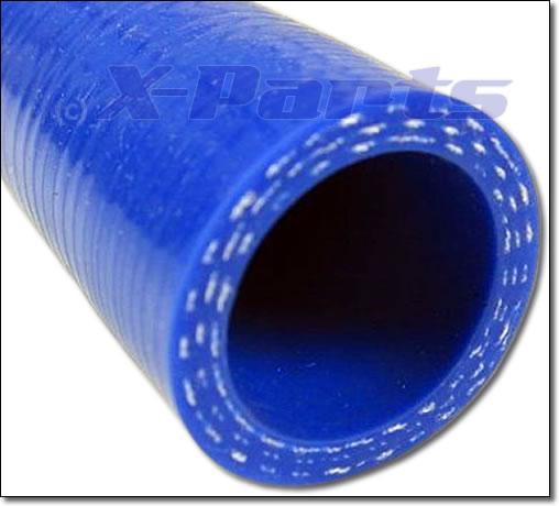 Ladedruckschlauch GERADE 1 Meter 20 mm blau