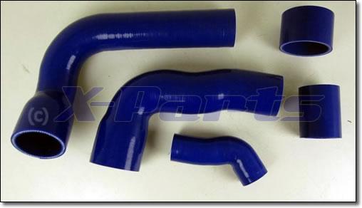 focus rs mk2 ladedruckschlauch komplett set blau. Black Bedroom Furniture Sets. Home Design Ideas