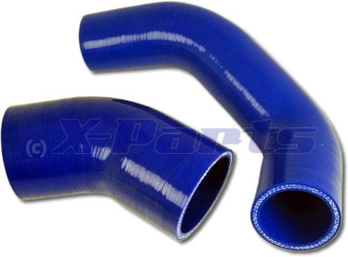 ford focus rs mk2 ansaugschlauch luftfilter zur airbox blau. Black Bedroom Furniture Sets. Home Design Ideas