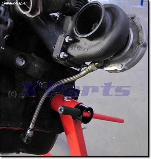 Öl-Rücklauf Set Turbolader für Garrett