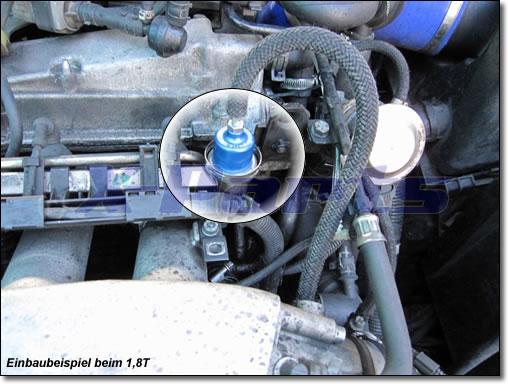 X-Parts Benzindruckregler BMW schwarz