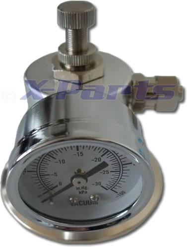 X-Parts Air Charger Unterdrucksteuerventil mit Manometer