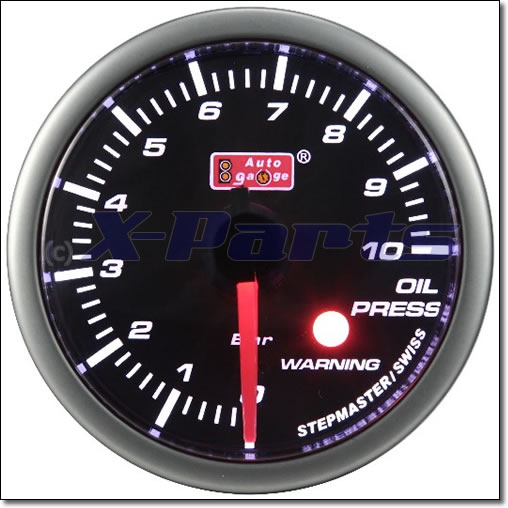 Stepper Öldruckanzeige 60 mm | Auto Gauge