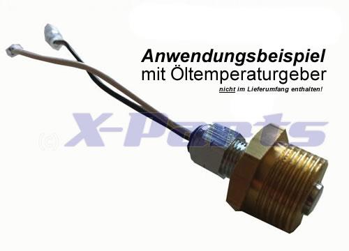Öldruck Gewindeadapter M18 X 1.5
