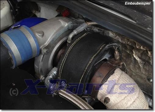Hitzeschutz Turbolader T3 Turbo-Pampers SCHWARZ