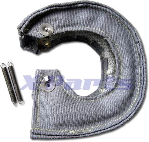 Hitzeschutz Turbolader T4 Turbo-Pampers GRAU