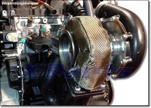 Hitzeschutz Turbolader T3 Turbo-Pampers VOLL-TITAN