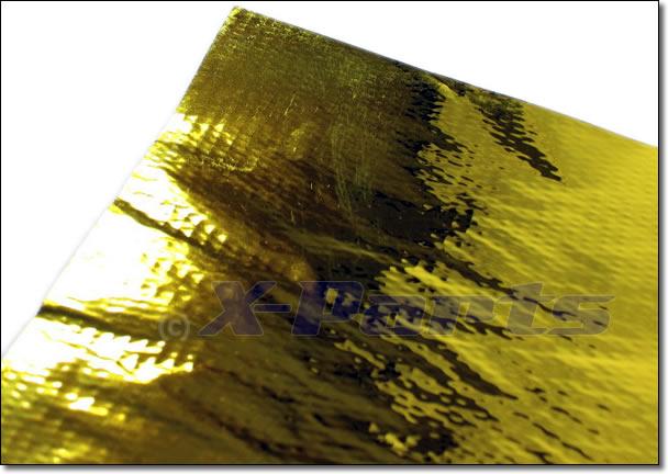 GOLD Hitzeschutzmatte 50cm x 50cm Reflektierend Hitzeabweisend Clet zlet G60 G40