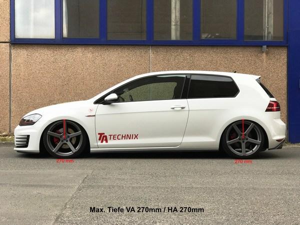 Audi A3 8L Quattro Allrad Gewindefahrwerk TA Technix