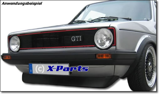 spoilerlippe golf 1 gti baujahr 74 83. Black Bedroom Furniture Sets. Home Design Ideas