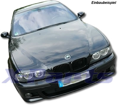 f r bmw e39 m look sto stange vorne m5 wabengitter o. Black Bedroom Furniture Sets. Home Design Ideas