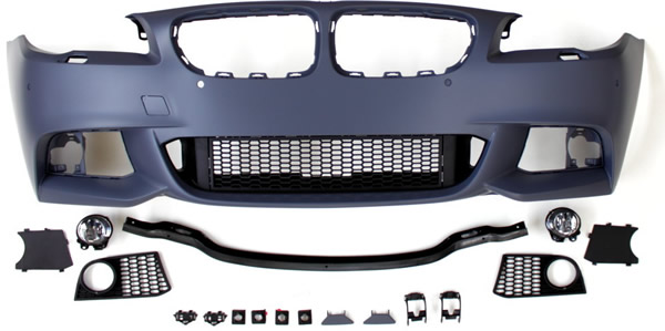 5er BMW F10 Body-Kit Front, Seite und Heck M-Look