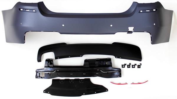 5er BMW F10 Body-Kit Front, Seite und Heck M-Look Details