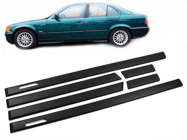 3er BMW E36 Seitenleisten Türleisten Set