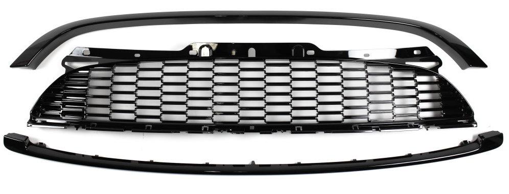 Mini Cooper S R50 R52 R53 Kühlergrill Waben-Design ohne Emblem Lieferumfang