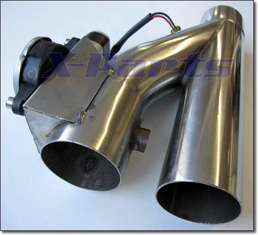 Klappenauspuff System Auspuffklappe mit Fernbedienung 63,5 mm