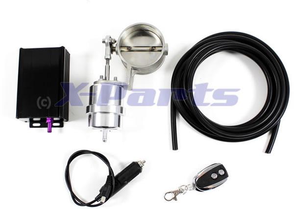 Klappenauspuff Steuerung 63,5 mm X-Parts High-End Typ 4