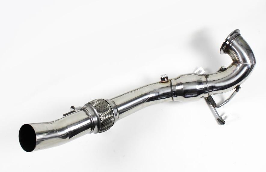 Audi S3 8V 2.0 TFSI Downpipe 76 mm Hosenrohr Lieferumfang