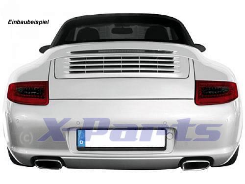 Porsche 911 997 LED Rückleuchten schwarz-rot