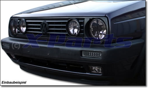 vw golf 2 front blinker mit standlicht funktion smoke black. Black Bedroom Furniture Sets. Home Design Ideas