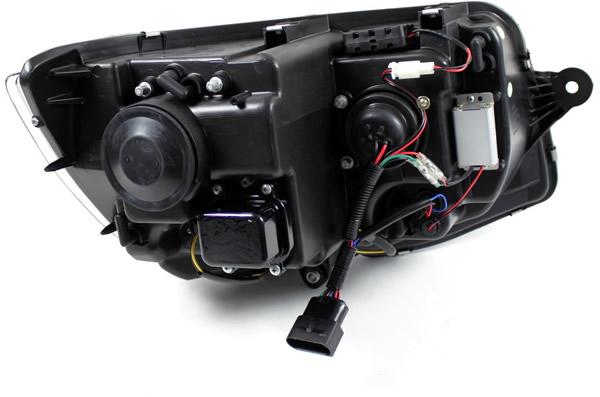 VW T6 Scheinwerfer LED mit Tagfahrlicht R87 Einzelheiten